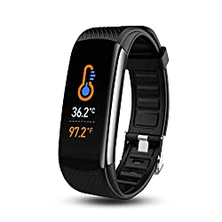 Bluemelody Smart Watch - The best Fitness Tracker with Body Temperature Thermometer