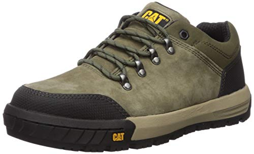 Caterpillar Men's Converge Steel Toe Industrial Shoe, Olive, 10.5 M US