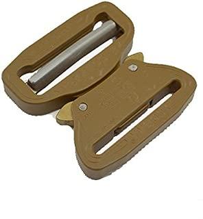 AustriAlpin COBRA Buckle 7075 Aluminum Quick Release Adjustable Coyote Brown (1.5