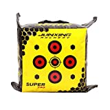 Rnwen Straw Archery Target Point Bag Archery Target Youth Archery Arcade Field Point Bag Archery Target Targets (Color : Yellow, Size : 40x40x20cm)