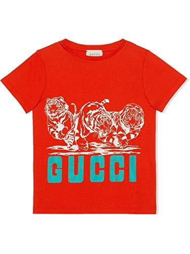 Luxury Fashion | Gucci Jongens 547559XJB446511 Rood Katoen T-shirts | Lente-zomer 20