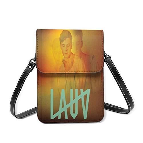 Hdadwy LAUV Bolso bandolera pequeño Monedero de cuero ligero para teléfono Mini bolso para teléfono celular