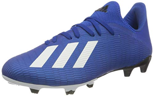 adidas Herren X 19.3 FG Fußballschuh, ROYBLU/FTWWHT/CBLACK, 40 EU