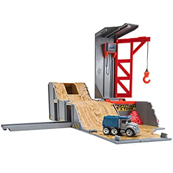 Micro Machines Core Playset Construction - Expandable and Connectable to Other MM Sets Includes One Exclusive Vehicle - Collect Them All