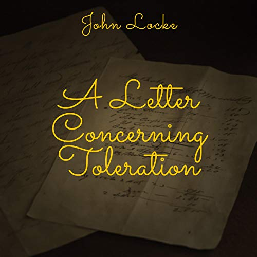 A Letter Concerning Toleration cover art