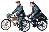 Tamiya 300035240 - 1:35 Diorama-Set Soldaten mit Fahrrad