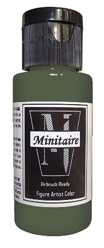 Badger Air-Brush Company Miniature Airbrush Ready Water Based Acrylic Paint Bottle, 2-Ounce, Swamp Ground