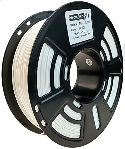 Stronghero3D desktop fdm 3d drucker filament pla weiße 1.75mm 1kg (2.2 lbs) dimension genauigkeit von + / -0.05mm für Ender3 Cr10