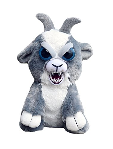 Feisty Pets William Mark Junkyarde Jeff Adorable Plush Stuffed Goat That Turns Feisty with a Squeeze