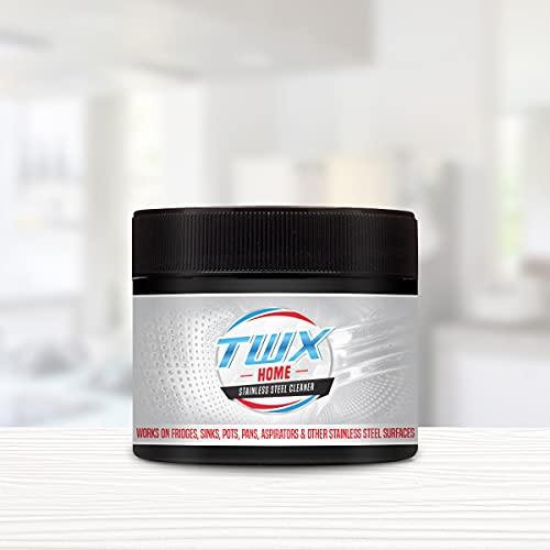 TWX Home Stainless Steel - Para utensilios de cocina y electrodomésticos (300 g)