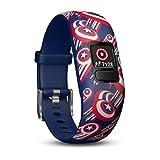 Garmin Vívofit Jr. 2 - Bracelet d'Activité pour Enfants, Captain America (Bande...