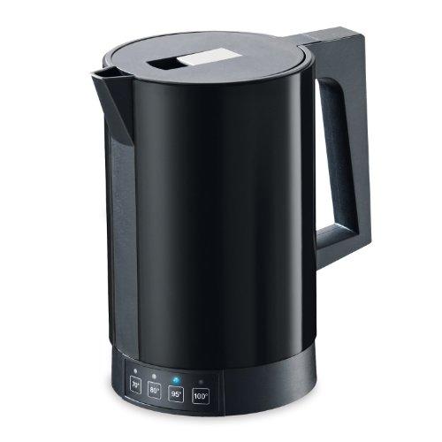 ritter Wasserkocher fontana 5, schwarz, mit Temperatureinstellung, made in Germany