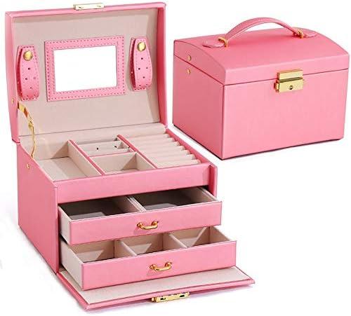 MUY New Three Layers Jewelry Deluxe Capacity 35% OFF Large Box Displa Organizer