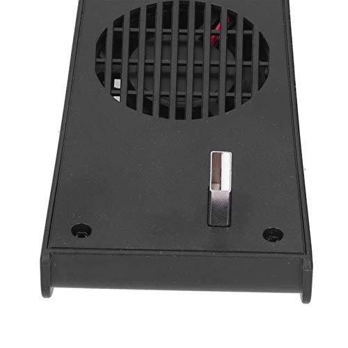 Ventilador de refrigeración para PS5 Difusión de Calor rápida Fácil de Instalar Ventilador de refrigeración del Host para la Consola Trabajo del Host PS5 Home