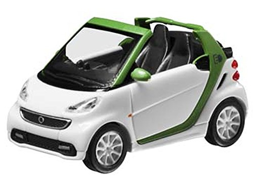 Mercedes-Benz smart, fortwo, Cabrio, Electric Drive weiß, Busch, 1:87