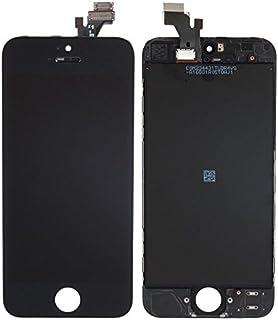 شاشة كاملة خارجية و داخلية لون اسود لاجهزة ايفون 5 ، اسود