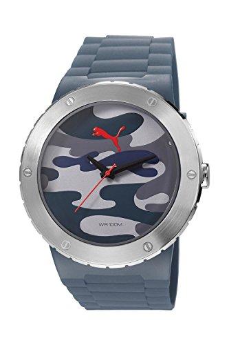 Puma Herren-Armbanduhr XL Blast L Analog Quarz Resin PU103331005
