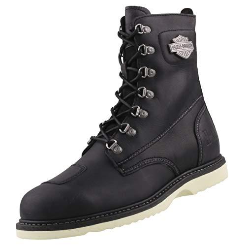HARLEY-DAVIDSON Herrenschuh - Boot LOTTMAN - D97040 - Black, Schuhgröße:EUR 46