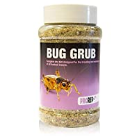 Dry diet for feeder insects High in calcium & protein High quality ingredients Maximum palatability