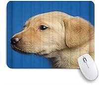 KAPANOU マウスパッド、犬のゴールデンレトリバーのプロフィールかわいい犬 おしゃれ 耐久性が良い 滑り止めゴム底 ゲーミングなど適用 マウス 用ノートブックコンピュータマウスマット