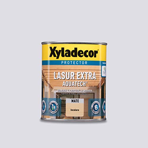 XYLADECOR LASUR EXTRA MATE AQUATECH INCOLORO 2,5 L