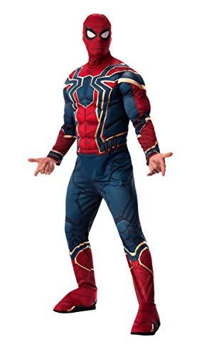 Rubie's Men's Marvel Avengers Infinity War Iron Spider-Man Deluxe Costume, Standard