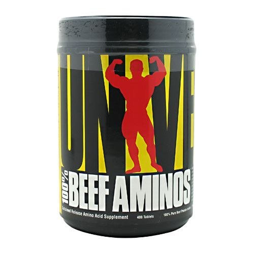Universal Nutrition 100% Beef Aminos, 400Tablets by Ultimate Nutrition