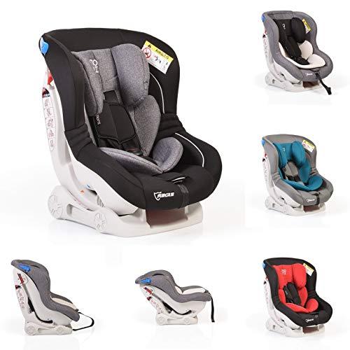 Kindersitz Aegis Gruppe 0/I (0-18 kg), Rückenlehne verstellbar, Farbe:schwarz grau