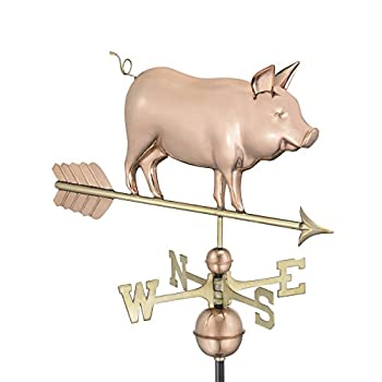 Good Directions 9550P Country Pig Weathervane – Copper