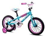 Brave 16' Freestyle BMX Kids Bike for Girls. Lightweight Aluminum Frame and...