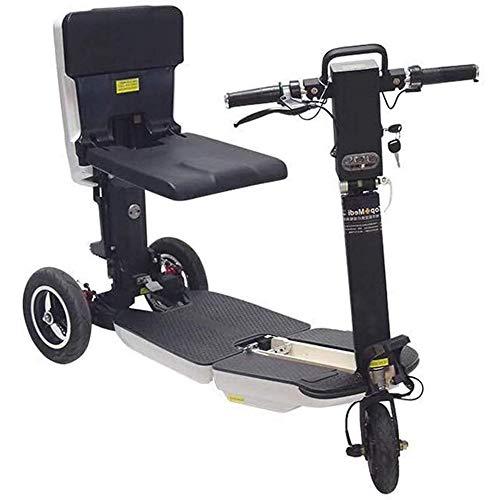 YEDENGPAO - Patinete eléctrico triciclo de tres ruedas eléctricas para escúter, 48 V, discapacitados/personas mayores, plegable, Scooter eléctrico