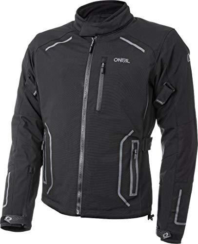 O\'NEAL | Motocross-Jacke | Enduro MX | optimale Bewegungsfreiheit, Wind- und wasserdicht, Allwetterjacke mit herausnehmbarem Thermofutter | Sierra Jacket | Erwachsene | Schwarz | Größe XL