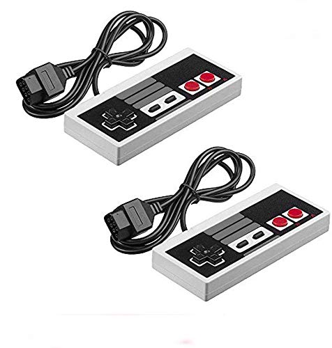 2-Pack NES Controllers for NES 8 Bit Entertainment System Console Control Pad¡