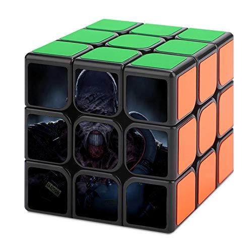 uytrgh R esident E vil Tercer Orden Cubo Mágico Descompresión No Tóxico Suave Puzzle Nunca Fuera de Date Regalo