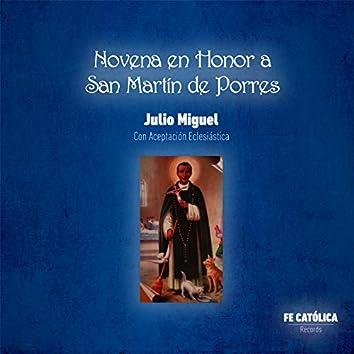 Novena en Honor a San Martín de Porres: Con Aceptación Eclesiástica