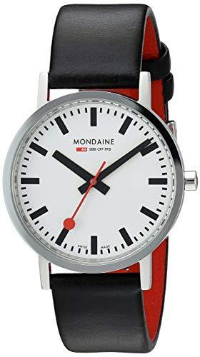 Mondaine Suiza Ferrocarriles del Hombre clásico Reloj a6603031411sbb