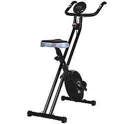 FDS Fitnessfahrrad Ergometer Heimtrainer Fahrradtrainer Trimmrad Fitnessbike Fitness Fahrrad 88x40x120 cm
