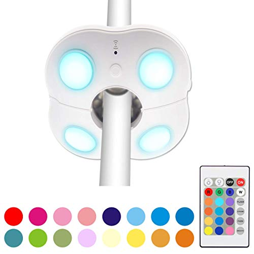 HONWELL Luci per Ombrellone, Lampada per Ombrellone, Ombrellone Luci LED, LED Illuminazione per Esterno con Dimmerabile 16 colori, Luce Giardino Batteria per Giardino, Esterni, Campeggio, Tende