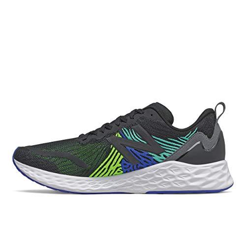New Balance Men#039s Fresh Foam Tempo V1 Running Shoe Black/Energy Li 10 Wide