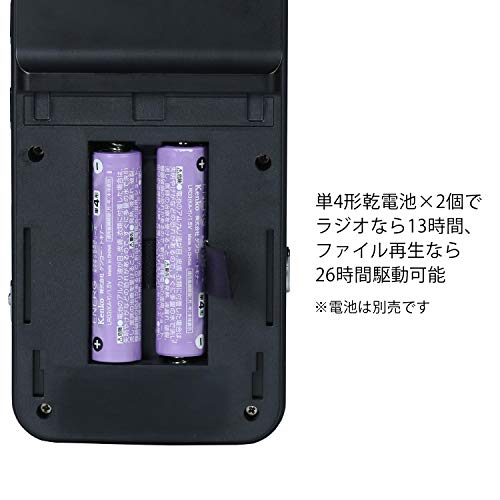 Kenko(ケンコー)『簡易集音機能搭載ラジオボイスレコーダー(KR-007AWFICR)』