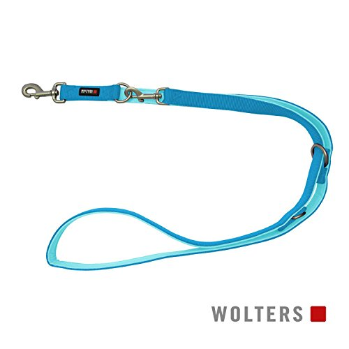 Wolters | Führleine Professional Comfort in Aqua/Azur | L 200 cm x B 20 mm