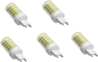 POTTBONS G9 LED Bulb 10W 1000LM Cold Light 6500K Warm Light 2700K, 360° Beam Angle, Non-dimmable, Replace 40W Halogen lam...