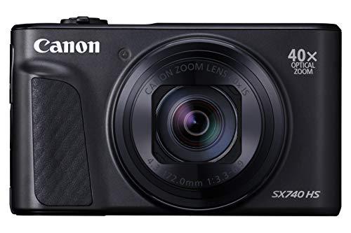 Canon SX740 HS PowerShot - Black