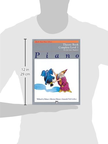 Alfred's Basic Piano Library Theory Complete, Bk 1: For the Later Beginner