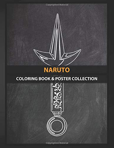 Coloring Book & Poster Collection: Naruto Visit Mi Web For More Designs Follow In Instagramfa Anime & Manga