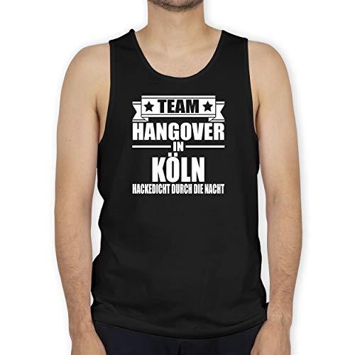 Shirtracer JGA Junggesellenabschied Männer - Team Hangover in Köln - L - Schwarz - Fun - BCTM072 -...