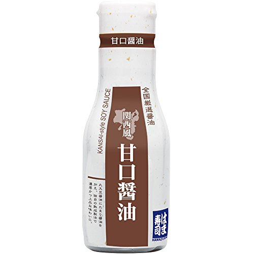 はま寿司 甘口醤油(関西風)1本 [200ml] 密封ボトル 常温商品