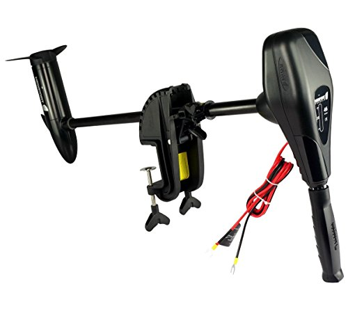 Newport Vessels Transom Mount Trolling Motor with two wires
