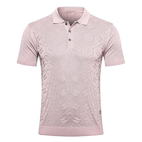 N\P Camisa Hombre Seda Verano Botton