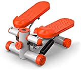 Step Máquina para Ejercicios Entrenamiento Altura Ajustable Mini de Pasos, Ejercicio Paso a Paso for Home Fitness hidráulico Paso a Paso Pedal Bicicleta elíptica (Color : Orange)